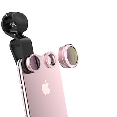 qadou lentilă pentru telefoane mobile 185 lentilă pentru ochi de pește 10x macro obiectiv 120 cu unghi larg de lentilă de sticlă din aliaj