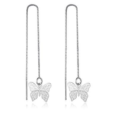 Pentru femei Cercei Stud Plastic Fluture Bijuterii Pentru Zilnic