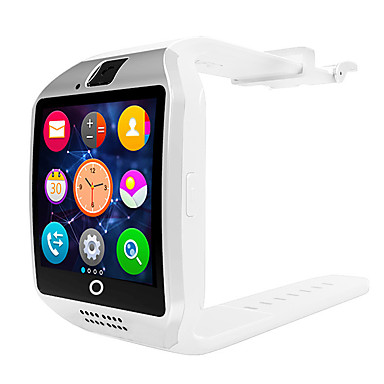 Χαμηλού Κόστους Ανδρικά ρολόγια-q18 smartwatch βραχιόλι bluetooth αδιάβροχο τηλέφωνο φωτογραφία κίνηση βήμα μέτρησης πολλαπλών λειτουργιών.