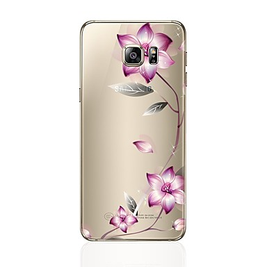 d24ca4aa81 Case For Samsung Galaxy S8 Plus / S8 Transparent / Pattern Back Cover Flower  Soft TPU for S8 Plus / S8 / S7 edge #06222655