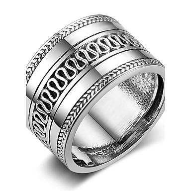 Pentru femei Band Ring stil minimalist Plastic Geometric Shape Costum de bijuterii Zi de Naștere Serată