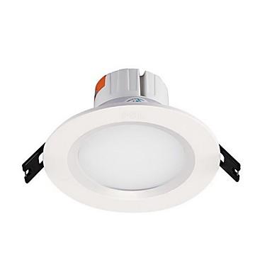 1pc 8w led lumina de jos lumina calda alb / alb cal gaura ac220v gaura 125mm 680lm