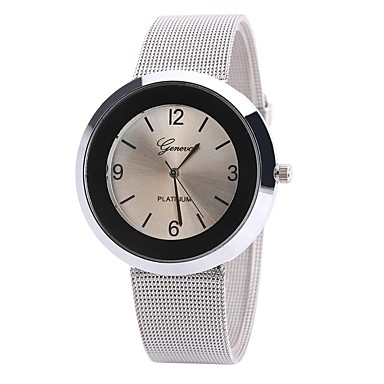 Pentru femei Ceas de Mână Ceas Elegant  Ceas La Modă Chineză Quartz Ceas Casual Aliaj Bandă Charm Casual Elegant Negru Alb Albastru Maro