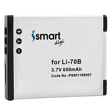 estemartdigi li70b 3.7v baterie de camera foto 650mah pentru olympus li-70b fe 4040 4020 x940 d705 vg140 70b