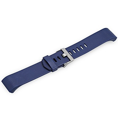Silicone Pulseiras de Relógio Alça Azul 21cm / 8.27 Polegadas 2cm / 0.8 Polegadas