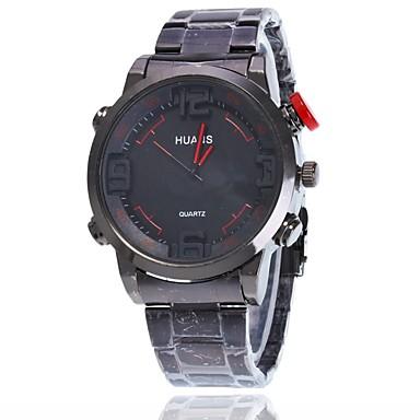 Pentru femei Ceas Elegant  Ceas de Mână Chineză Quartz Mare Dial Aliaj Bandă Charm Casual Elegant Negru Argint