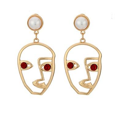 Pentru femei Cercei Picătură Ștras Imitație de Perle Metalic Cute Stil Imitație de Perle Aliaj Bijuterii Casual Oficial Costum de