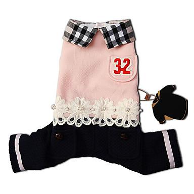 Câine Salopete Îmbrăcăminte Câini Casul/Zilnic Literă & Număr