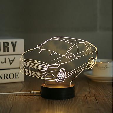 1set Decorativ Decorațiuni Luminoase LED-uri de lumină de noapte Lumini USB-0.5W-USB