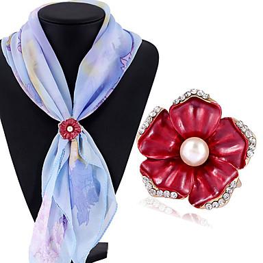 Pentru femei Imitație de Perle Broșe - Imitație de Perle Altele Rosu