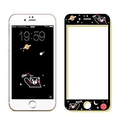 Недорогие Защитные плёнки для экрана iPhone-AppleScreen ProtectoriPhone 6s HD Защитная пленка на всё устройство 1 ед. Закаленное стекло / Уровень защиты 9H / Взрывозащищенный