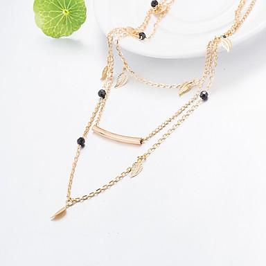 Pentru femei Personalizat stil minimalist Coliere cu Pandativ Aliaj Coliere cu Pandativ . Zilnic Casual