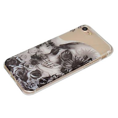 iPhone Morbido disegno Per 6s 7 Custodia Teschi Plus Fantasia iPhone iPhone 06206907 7 7 per Plus Plus Apple retro iPhone IMD Per 7 iPhone TPU qvqA1Oz
