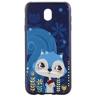 Maska Pentru Samsung Galaxy J7 (2017) J3 (2017) Model Capac Spate Animal Moale TPU pentru J7 Prime J7 (2017) J5 Prime J5 (2017) J5 (2016)