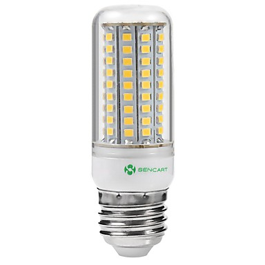 SENCART 1st 5 W LED-lampa 3000-3500/6500-7500 lm E14 G9 GU10 102 LED-pärlor SMD 2835 Vattentät Dekorativ Varmvit Kallvit 220-240 V 110-130 V / 1 st / RoHs