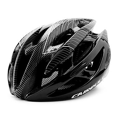 자전거 헬멧 21 통풍구 CE CE EN 1077 싸이클링 면갑 울트라 라이트 (UL) 스포츠 PC EPS 사이클링 / 자전거