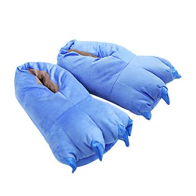 Adulți Papuci Kigurumi Monster Blue Monster Animal Pijama Întreagă Poliester Bumbac Albastru Cosplay Pentru Bărbați și femei Sleepwear Pentru Animale Desen animat Festival / Sărbătoare Costume