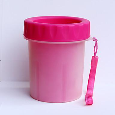 Gatto cane pulizia set da bagno lavandino bagno rosso for Pulizia bagno