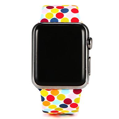Uhrenarmband für Apple Watch Series 3 / 2 / 1 Apple Handschlaufe Sport Band Silikon