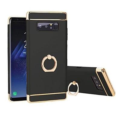 voordelige Galaxy Note-serie hoesjes / covers-hoesje Voor Samsung Galaxy Note 8 360° rotatie / Schokbestendig / Beplating Achterkant Effen Hard TPU