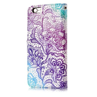 iPhone iPhone Plus Per Resistente A Apple per iPhone pelle Custodia iPhone Con decorativo X portafoglio sintetica di Porta Fiore carte 8 Integrale 06378014 iPhone supporto X credito 8 8 q4gEE