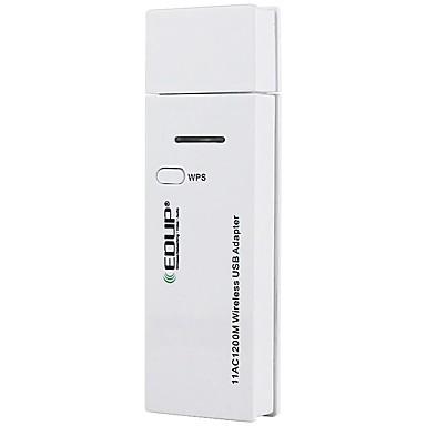 edup ep-ac1601 1200 m double bande carte réseau sans fil usb carte ordinateur de bureau portable wifi récepteur usb3.0