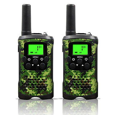 48 462 Walkie Talkie Handheld Low Battery Warning Power Saving Function VOX Encryption CTCSS/CDCSS Auto-Transpond Keylock Backlight LCD