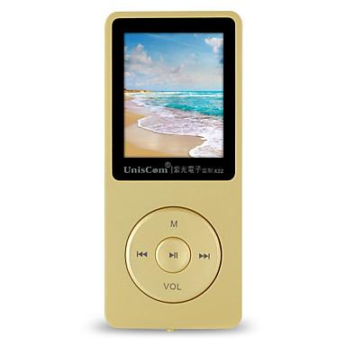 UnisCom MP3/MP4 MP3 WMA WAV FLAC APE OGG AAC Литий-ионная аккумуляторная батарея
