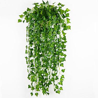 billige Hjemme Indretning-Kunstige blomster 2 Afdeling pastorale stil Planter Vægblomst