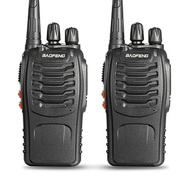 BAOFENG 2 Pcs BF-888S Walkie Talkie  Portabil  Avertizare Baterie Slabă PC Software Programabil  Promter Voce VOX Cronograf Blocare Canal