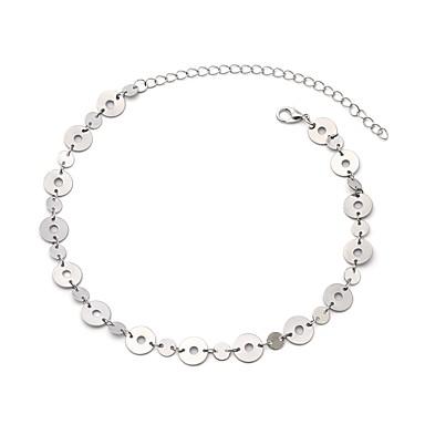 billige Mode Halskæde-Dame Kort halskæde Simple Guld Sølv Halskæder Smykker Til Daglig Gade