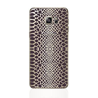 Недорогие Чехлы и кейсы для Galaxy S6 Edge-Кейс для Назначение SSamsung Galaxy S8 Plus / S8 / S7 edge С узором Кейс на заднюю панель Леопардовый принт Мягкий ТПУ