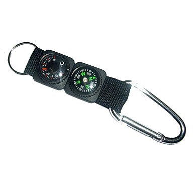 Kompasi Outdoor Kompas Aluminijska legura Camping & planinarenje Vježbanje na otvorenom Kampiranje / planinarenje / Speleologija Putovanje Gyalogtúra 1 pcs Crn