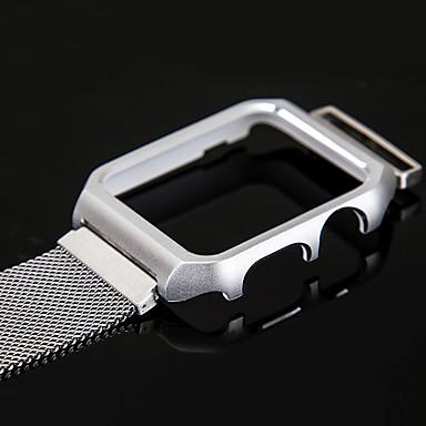 Horlogeband voor Apple Watch Series 3 / 2 / 1 Apple Polsband Milanese lus DHZ Gereedschap Roestvrij staal
