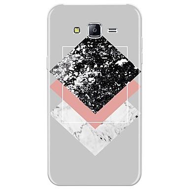 voordelige Galaxy J-serie hoesjes / covers-hoesje Voor Samsung Galaxy J7 (2017) / J7 (2016) / J7 Patroon Achterkant Marmer Zacht TPU