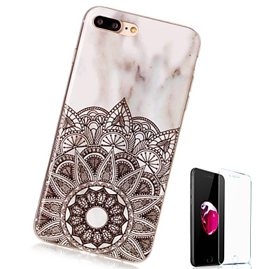 iPhone iPhone iPhone iPhone Custodia 06445686 Effetto Per Plus Plus X Per retro 8 TPU marmo Fantasia Apple disegno 8 iPhone iPhone 8 Morbido X per IEaqE