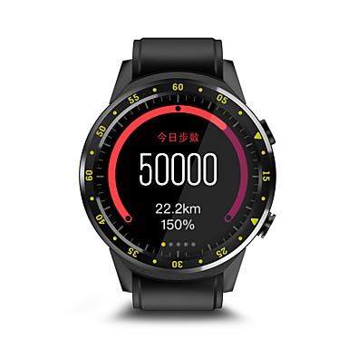 זול שעונים חכמים-ADW-F1 ל אנדרואיד 4.0 / iOS / Android מוניטור קצב לב / GPS / מצלמה / מצפן / בקרת APP שעון עצר / מד צעדים / מזכיר שיחות / מד פעילות / מעקב שינה / תזכורת בישיבה / מצאו את המכשירשלי / Alarm Clock / 64MB