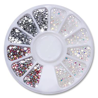 Folie Glitter Nail Art Design Modă / Bling bling Zilnic
