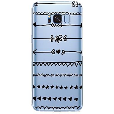 Недорогие Чехлы и кейсы для Galaxy S6-Кейс для Назначение SSamsung Galaxy С узором Плитка Мягкий