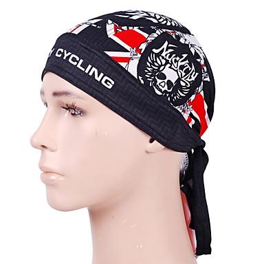 Nuckily Kerékpáros sapka Headsweat Tél Tavasz Nyár Ősz Gyors szárítás Szélbiztos Anatómiai tervezés Ultraibolya biztos Párásodás gátlás