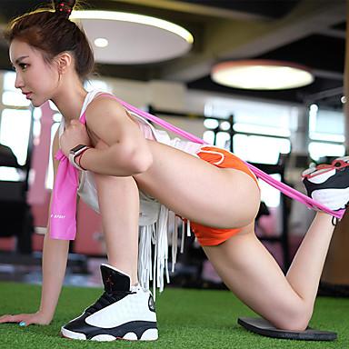 KYLINSPORT Egzersiz Direnç Bantları İle 1 pcs Silgi Kuvvet Antrenmanı, Fizik Tedavi İçin Yoga / Pilates / Fitness Ev / Ofis