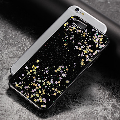 Pentru Anti Praf Maska Carcasă Spate Maska Shine Glitter Moale TPU pentru Apple iPhone 7 Plus iPhone 7 iPhone 6s Plus/6 Plus iPhone 6s/6
