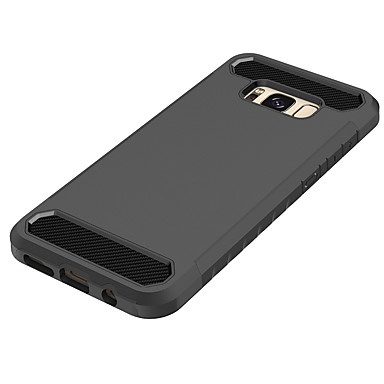 Case For Samsung Galaxy S8 / S7 Shockproof Back Cover Solid Colored Hard PC for S8 Plus / S8 / S7 edge