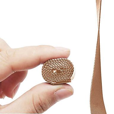 시계 밴드 용 Fitbit Charge 2 핏빗 밀라노 루프 스테인레스 스틸 손목 스트랩