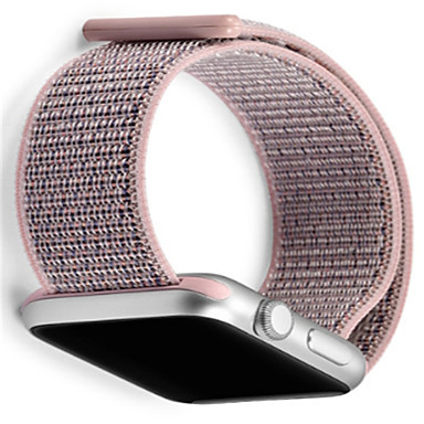 voordelige Smartwatch-accessoires-Horlogeband voor Apple Watch Series 4/3/2/1 Apple Moderne gesp Nylon Polsband