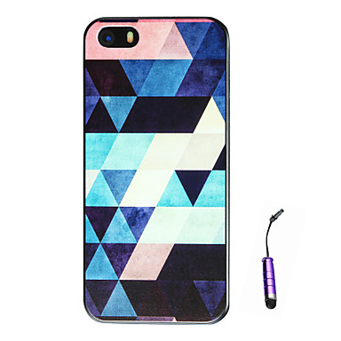 Case For Apple iPhone 5 Case iPhone 6 iPhone 6 Plus iPhone 7 Plus iPhone 7 Pattern Back Cover Geometric Pattern Hard PC for iPhone 7 Plus