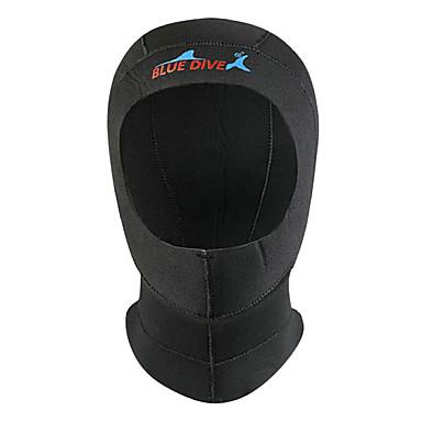 Bluedive Erkek Kadın's Unisex 3mm Dalış Kancaları Sıcak Tutma Hızlı Kuruma Kalın Koruyucu Naylon Neoprene Dalgıç elbisesi Şapka Dalış