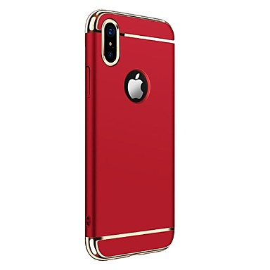 8 agli iPhone 06577557 per iPhone Apple sottile 8 Custodia Per Ultra iPhone Integrale urti iPhone Resistente Tinta unica Plastica X Resistente X x0X1pwEq