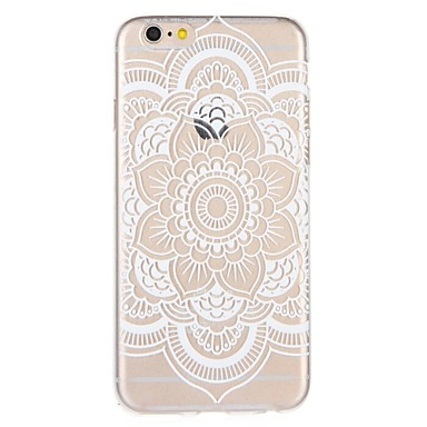 Coque Pour Apple iPhone 8 / iPhone 7 Motif Coque Mandala / Impression de dentelle Flexible TPU pour iPhone 8 Plus / iPhone 8 / iPhone 7 Plus