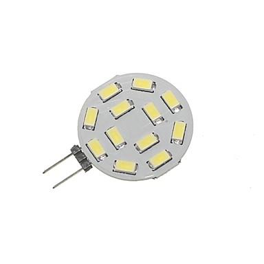 Недорогие Светодиодные электролампы-SENCART 1шт 5 W Двухштырьковые LED лампы 360 lm G4 T 12 Светодиодные бусины SMD 5730 Декоративная Тёплый белый Холодный белый 12-24 V